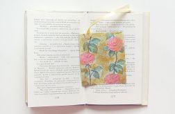 Zakładka do książki w róże nr 2