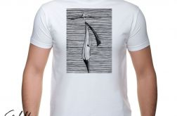 Kapelusz - t-shirt męski - różne kolory