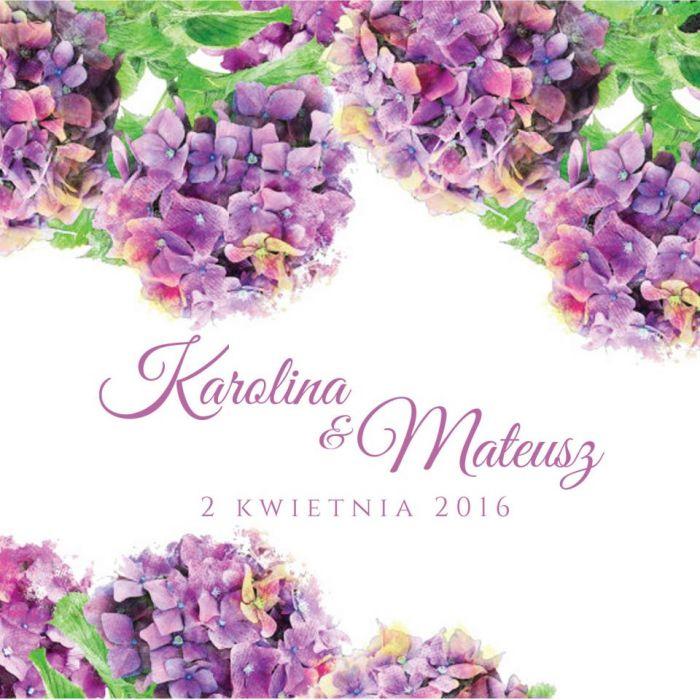 Zaproszenie Lilac