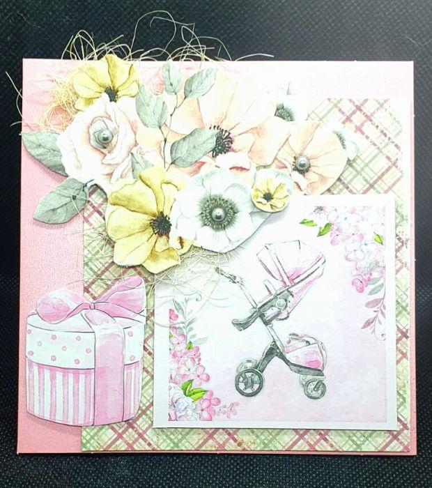 Kartka z okazji urodzenia się dziecka #1 Kartka z gratulacjami  - 2