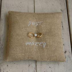 Poduszka na obrączki - Just marry