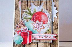 Kartka świąteczna Świąteczne historie