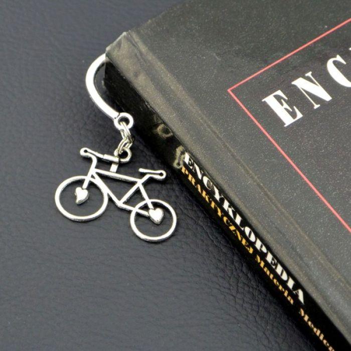 Zakładka do książki - Rower
