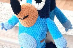Bluey z bajki Blue maskotka szydełkowa plusz