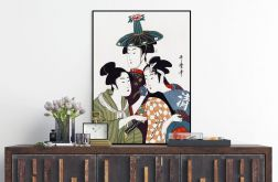 Japońskie dekoracje Plakat 50X70 B2