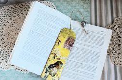 Zakładka do książki - Jastrząb
