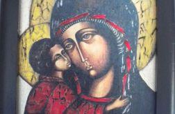 Maryja z dzieciątkiem - obrazek religijny