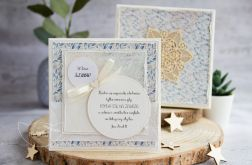 Kartka ślubna w pudełku. Personalizacja (s05)