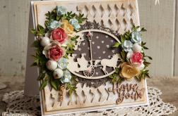 Kartka ślubna #1 w pudełku