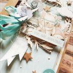 Kartka dla dziecka #206 - kartka na narodziny