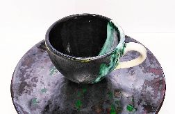 Ceramiczny zestaw deserowy - filiżanka_talerz