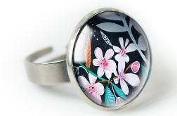 Jabłonka pierścionek z ilustracją