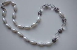Rezerwacja Jolanta bransoletka perła szklana