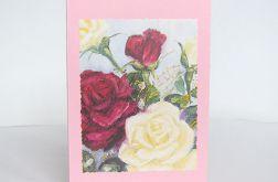 Uniwersalna kartka - róże