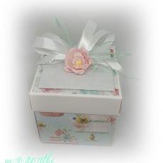 Pudełko urodzinowe...karnet