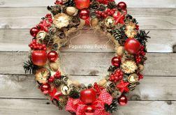 Wianek świąteczny Zimowe Owoce