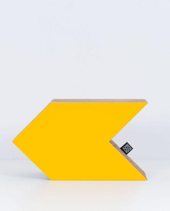 STRZAŁKA dekoracja ecoono | żółty
