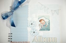 Album dla chłopca od narodzin do roczku.