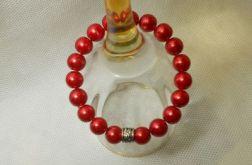 47. Bransoleta z pereł szklanych 10mm