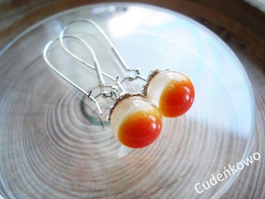 Zatopek pomarańczowy kwiat żywica