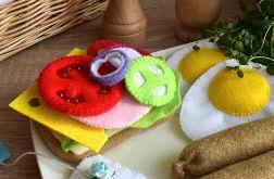 Kanapka z filcu / Jedzenie z filcu / Filcowe jedzonko