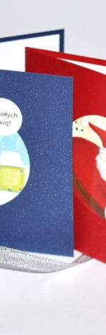 Komplet 4 kart świątecznych -2-