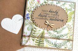kartka ślubna :: leśne życzenia