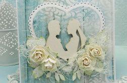 Wiejski ślub  - komplet z pudełkiem 2