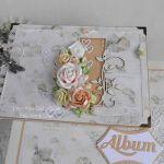 Album różany A5 w pudełku