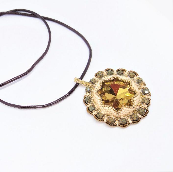 Naszyjnik Gwiazda Południa - Naszyjnik handmade rękodzieło