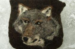 Portfel z wilkiem
