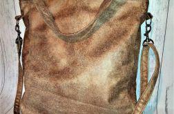 Torebka damska torba skórka słonia