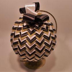 Bombka ze wstązki - Joa Design 8141