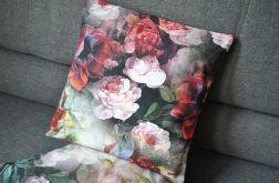 Poszewka dekoracyjna - barokowe róże