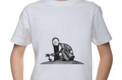 Kwiat - t-shirt 2-14 lat (różne kolory)
