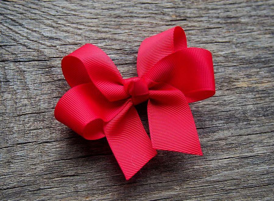 Spinka kokarda RED