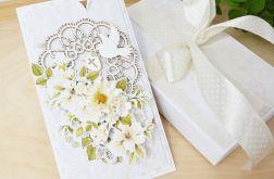 Chrzest - wiosenna kartka w pudełku