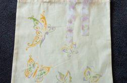 Torba bawełniana - motyle