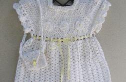 Sukienka z torebką, bawełna 100%