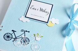 KSIĘGA GOŚCI album ślubny z rowerami