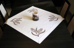 Bawełniany obrus ręcznie malowany