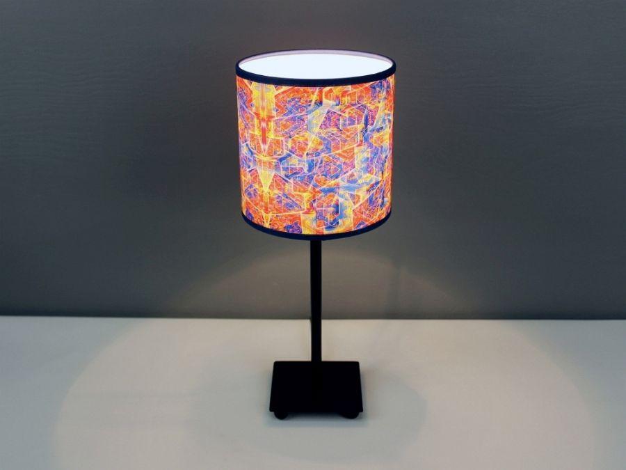 Czerwono-niebieska lampa sEN kOSIARZA 3 S - Lampa gwarantująca intensywne doznania.