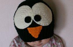 Czapka pingwin