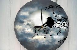 Zegar Ścienny Nowoczesny Ptaki