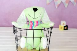 królik przytulanka zabawka króliczek Green