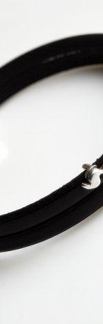 Bransoletka skórzana brąz czekoladowy konik
