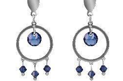 Niebieskie kryształki