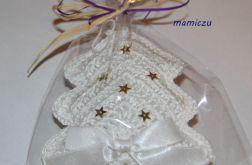 Choinki szydełkowe-ozdoby świąteczne