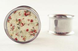 Na zamówienie : Plug floral kwiaty 10mm