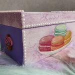 Drewniane pudełko ozdobne Macarons - Sweetest Things 3